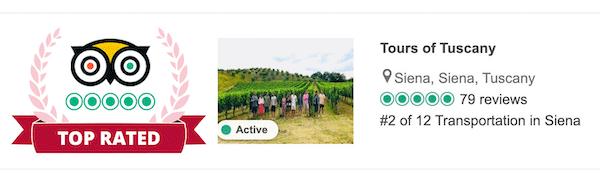 Tours of Tuscany tripadvisor